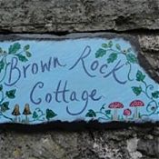 Autumn Slate House Sign