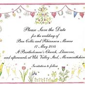 Rhi and Ben's Save the Date Card