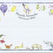 Hamish's Birth Thank You Card