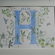 All H's Painting for Hamish