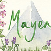 Swiss Mountain and Wild Flower Table Names